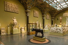 Pushkin Museum of Fine Arts in Moscow Stock Photo