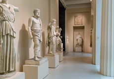 Pushkin Museum of Fine Arts in Moscow Royalty Free Stock Photos