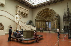 Pushkin Museum of Fine Arts in Moscow Stock Image