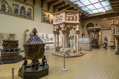 Pushkin Museum of Fine Arts in Moscow Royalty Free Stock Images