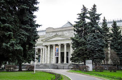 Pushkin museum in Moscow. Royalty Free Stock Photo