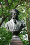 Pushkin - Russian poet Royalty Free Stock Photo