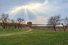Pushkin`s tower inisde akkerman forttress in belgorod, Odessa, U Stock Photography