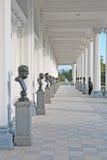pushkin selo tsarskoye Άγιος-Πετρούπολη Ρωσία στοά του Cameron Στοκ φωτογραφίες με δικαίωμα ελεύθερης χρήσης
