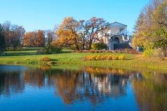pushkin selo tsarskoye Άγιος-Πετρούπολη Ρωσία στοά του Cameron Στοκ Εικόνα