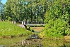 pushkin selo tsarskoye θόλος Isaac Πετρούπολη Ρωσία s Άγιος ST καθεδρικών ναών πάρκο της Catherine γεφυρών Στοκ Φωτογραφία