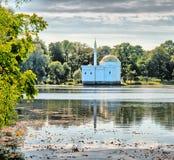 pushkin selotsarskoye St Petersburg Ryssland Det turkiska badet Royaltyfria Bilder
