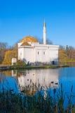 pushkin selotsarskoye St Petersburg Ryssland planlade bad 52 1850 för den petersburg pushkin russia för I-monighettipaviljongen t Arkivfoton