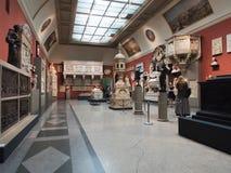Pushkin stanu muzeum sztuki piękna moscow Rosji Obrazy Stock