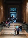 Pushkin stanu muzeum sztuki piękna w Moskwa, Rosja Obrazy Stock