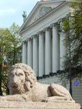 Pushkinhuis Heilige-Petersburg Rusland Stock Afbeelding