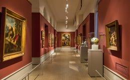 Pushkinmuseum van Beeldende kunsten in Moskou Stock Fotografie