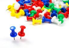 Pushpin Stock Image