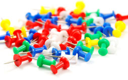 Pushpin Stock Photo