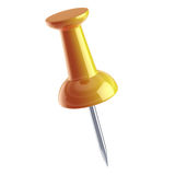 Pushpin isolated Royalty Free Stock Image