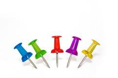Free Pushpins Royalty Free Stock Image - 18526786