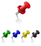 Pushpins Royalty Free Stock Images