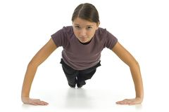Pushup Royalty Free Stock Photos