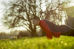 Pushups Royalty Free Stock Images