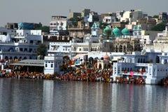 Puskar la India Foto de archivo libre de regalías