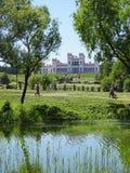 Puslovsky pałac w Kossovo Białoruś zdjęcia stock