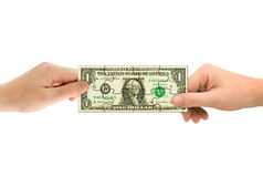 pussel för handpengar Royaltyfri Foto
