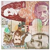 pussel för pengar för hand för begreppseuro finansiellt Royaltyfri Foto