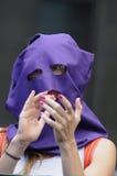 Pussy het protest van de Rel in Toronto Canada. Royalty-vrije Stock Fotografie