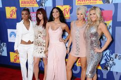 Pussycat Dolls. At the 2008 MTV Video Music Awards. Paramount Pictures Studios, Los Angeles, CA. 09-07-08 stock photos