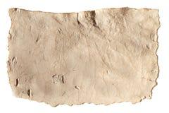 Pusta antyczna papierowa tekstura Zdjęcia Royalty Free