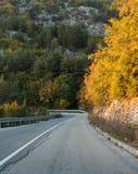 pusta asfalt droga Zdjęcie Royalty Free