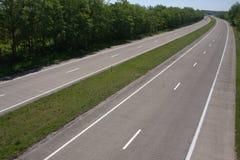 pusta autostrada Zdjęcia Stock