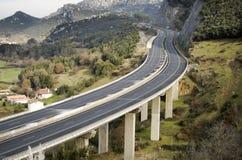 pusta autostrada tęsk Zdjęcia Stock