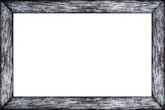 Pusta biel rama odizolowywająca na białym tle Zdjęcia Royalty Free