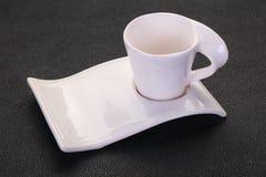 pusta ceramiczna fili?anka obraz royalty free