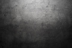 Pusta czarna betonowej powierzchni tekstura Fotografia Stock