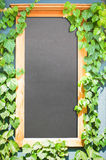 Pusta czerni deska Zdjęcia Stock
