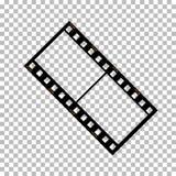 Pusta ekranowej ramy zapasu ilustracja Wizerunek rama filmu wektor Obraz Stock