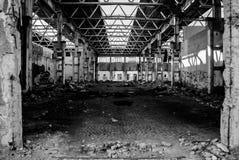 pusta fabryka Obrazy Stock