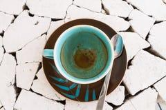 Pusta filiżanka kawy Zdjęcie Royalty Free