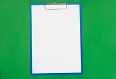 Pusta forma dla dokumentów Obraz Royalty Free