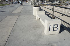 Pusta HB ławka Obrazy Stock