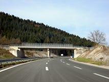 pusta highway Zdjęcia Stock