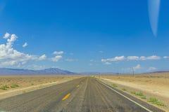 pusta highway Zdjęcie Royalty Free