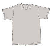 pusta ilustracyjna koszulę Zdjęcie Royalty Free