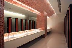 pusta jawna toaleta Obrazy Stock