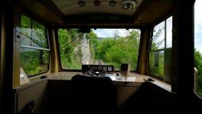 Pusta kabina podróżny pociąg zdjęcie wideo