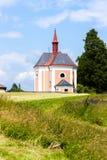 Pusta Kamenice, Czech Republic. Church of Saint Ann, Pusta Kamenice, Czech Republic Royalty Free Stock Photos