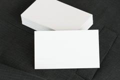 Pusta korporacyjnej tożsamości pakunku wizytówka z zmrokiem popielaty su Obrazy Royalty Free