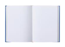 pusta książka odizolowywać rozpieczętowane strony biały obrazy royalty free